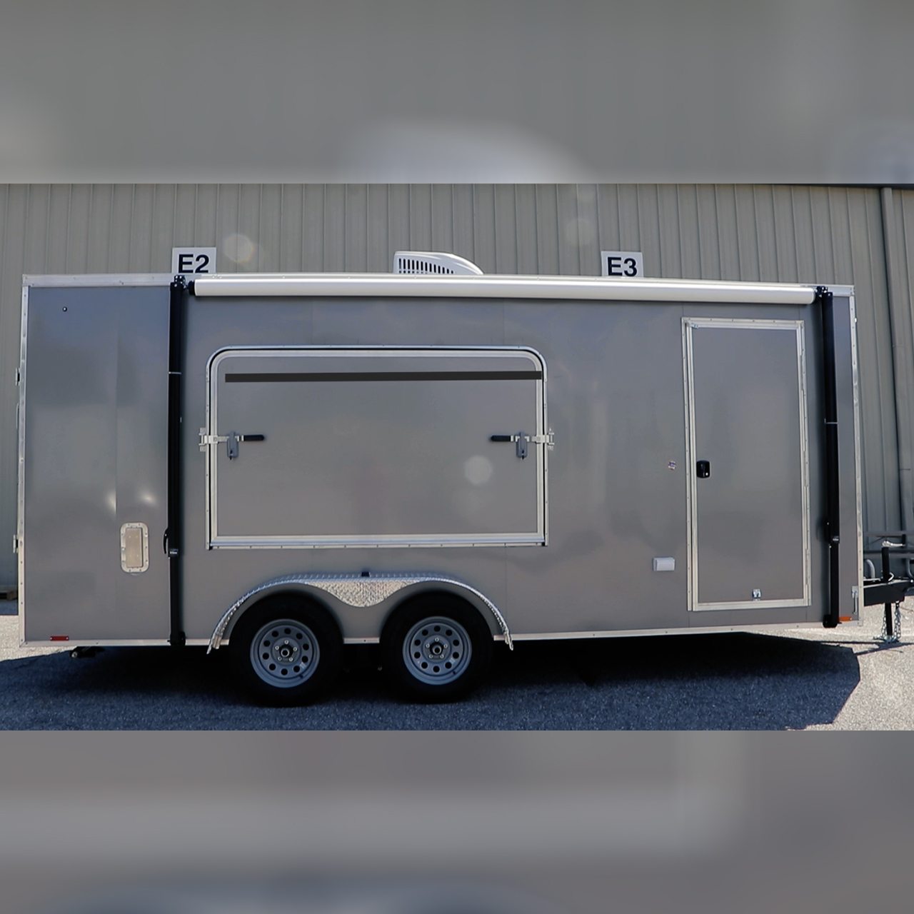 Cargo Trailer - Options - Camping - Camping Package - Cargo Express